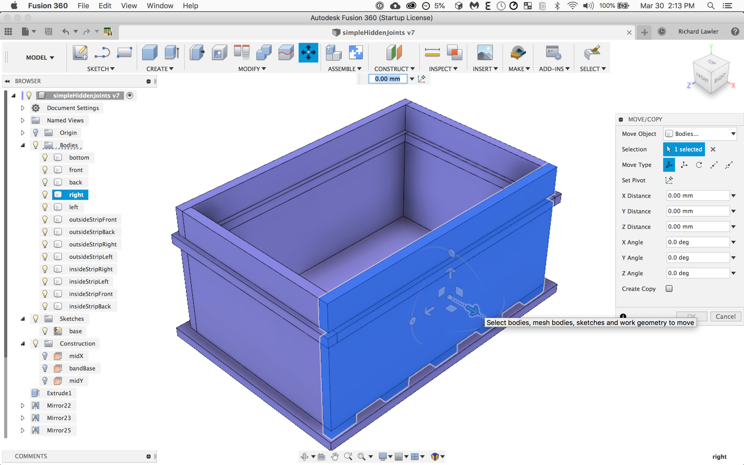 Introduction to Fusion 360 for Makers — Chimera