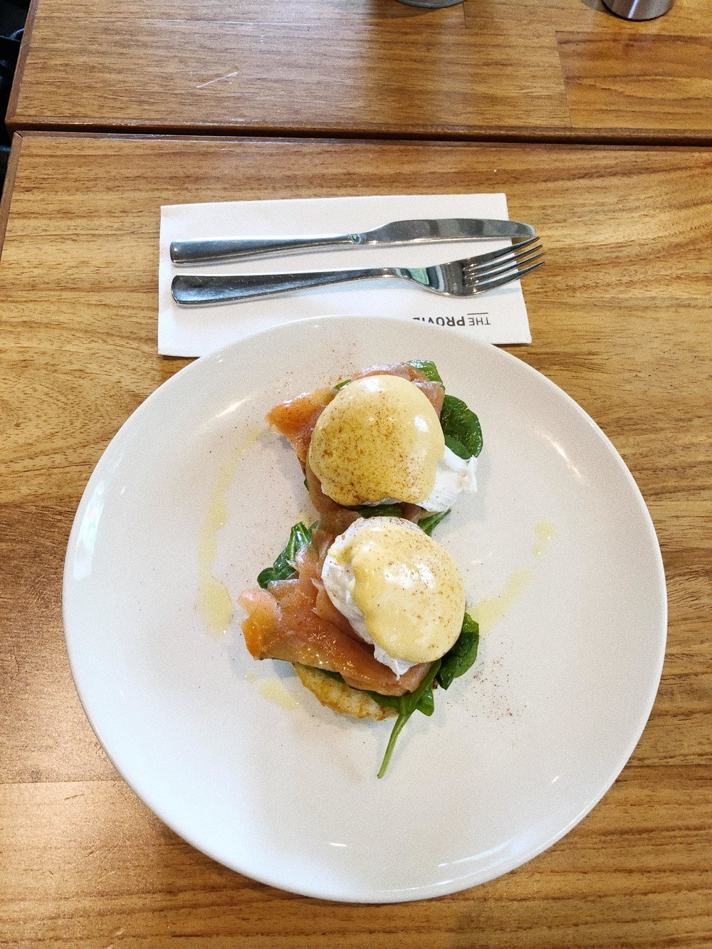 breakfast at the providore singapore looking for the best eggs benedict