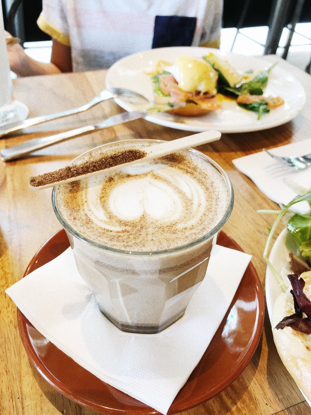 searching for the best chai latte in singapore the providore