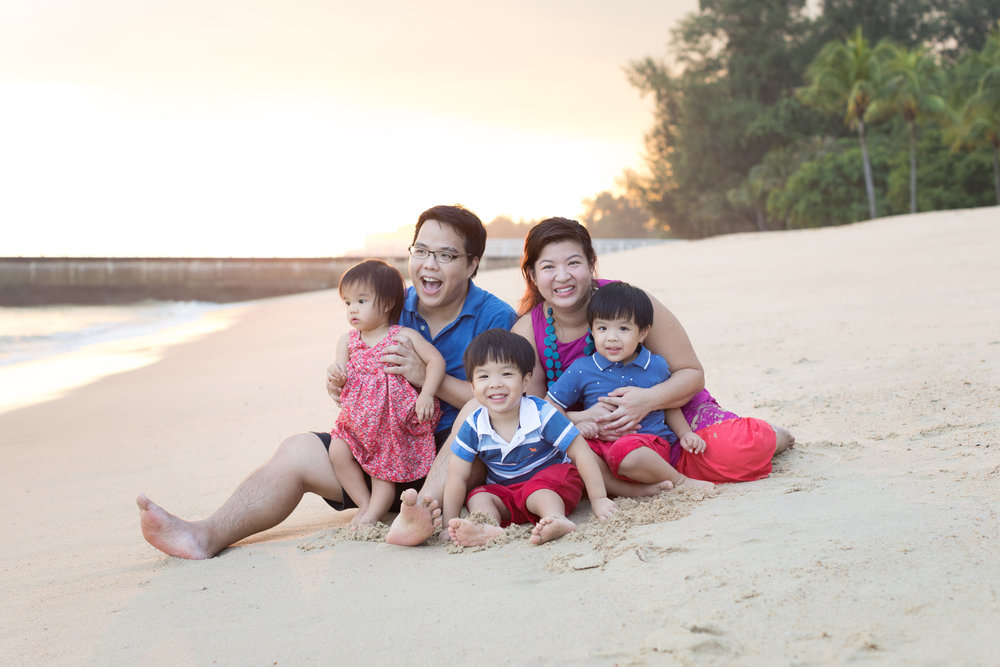 best family photoshoot in singapore
