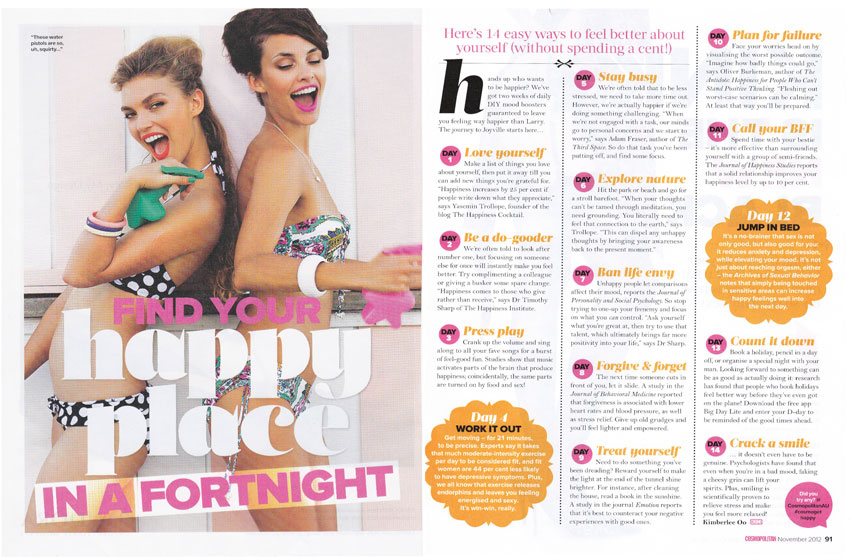 Cosmopolitan November 2012