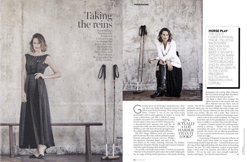 Vogue October 2016
