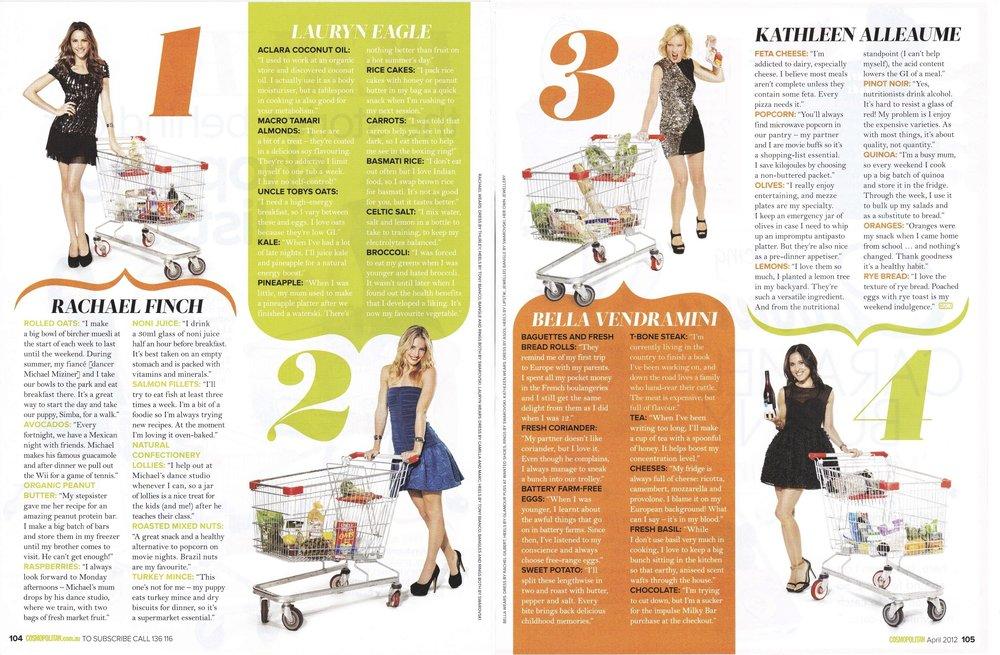 Cosmopolitan April 2012