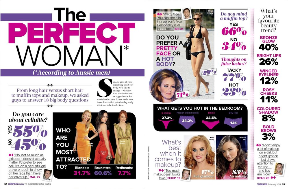 Cosmopolitan February 2012