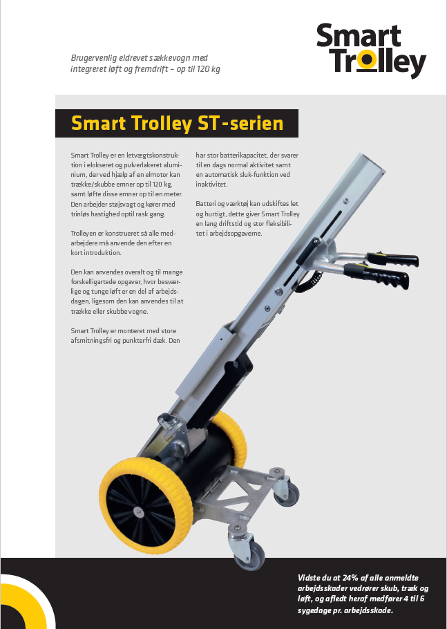 Smart Trolley ST-serien flyer