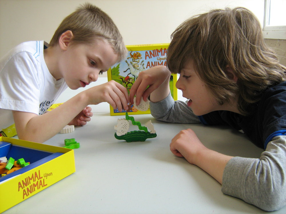 Family Games Day - Caleb and Tolkien Merrigan.JPG