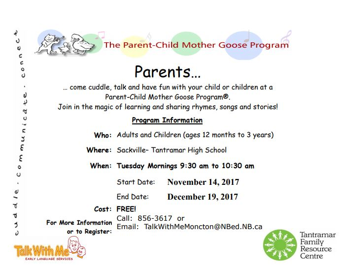 Parent Child Mother Goose (12 months - 3 years) — TFRC