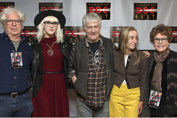 Ron Mann, Cindy Hulej, Rick Kelly, Giulia D'Agnolo Vallan and Jacqui Lofaro