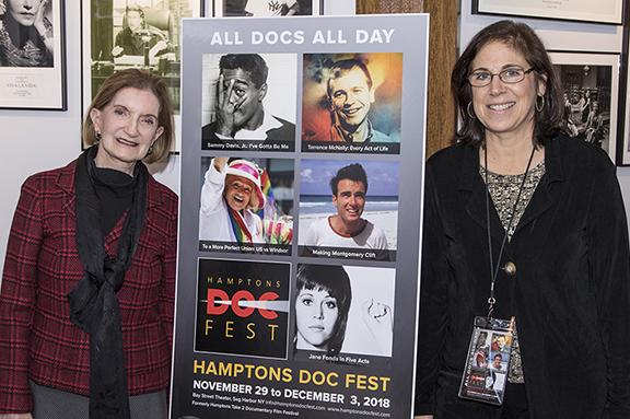 Marla Schwenk and Lynne Leary