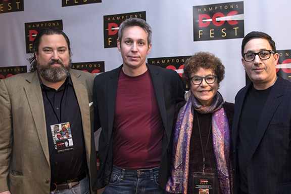Carter Burden, Tim Wardle, Jacqui Lofaro and Jason Weinberg