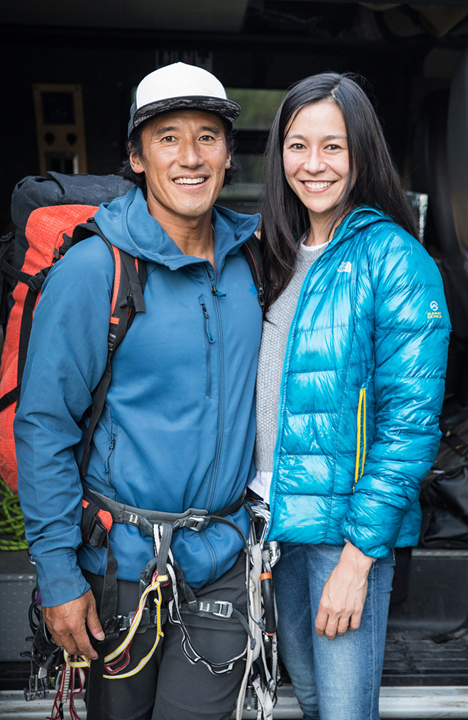 """""""Free Solo"""" Directors Jimmy Chin & Elizabeth Chai Vasarhelyi, winners of our 2018 Audience Award"""
