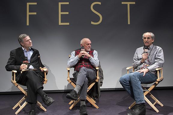 Ron Simon, Roger Sherman and Nigel Noble