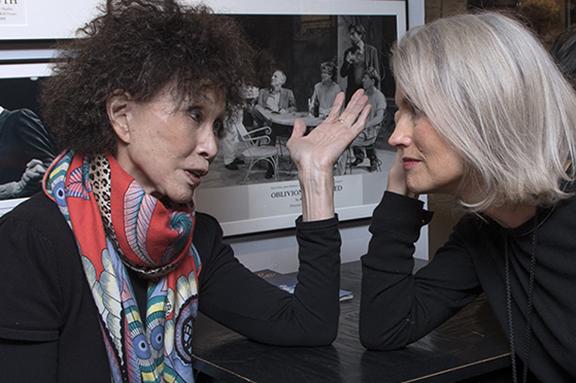 Lana Jokel with Bettina Lenzer
