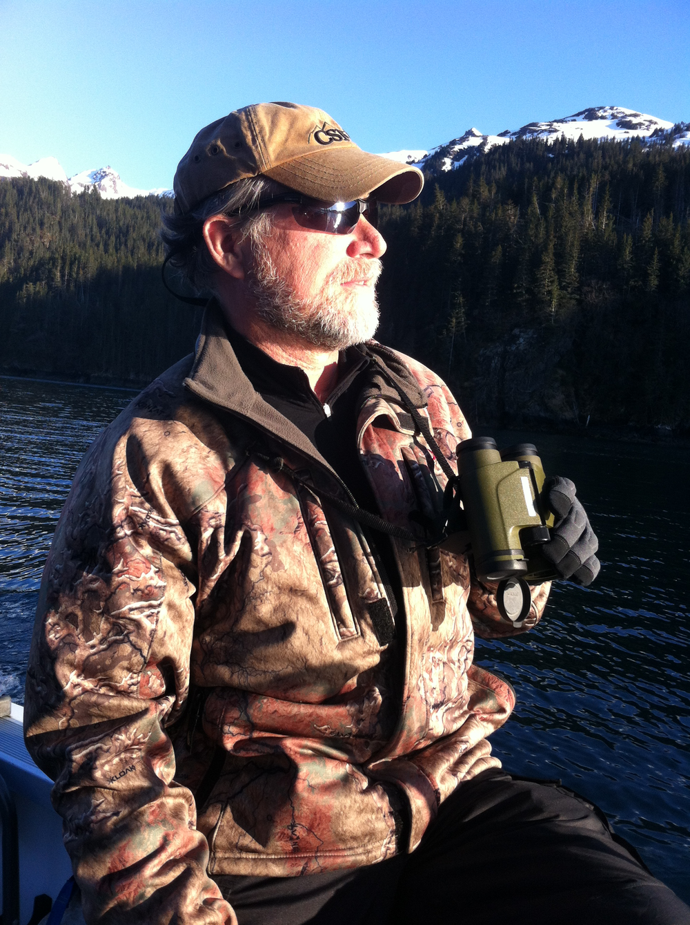 Hunting Black Bear on Kachemak Bay in Homer  on the Kenai Peninsula, AK