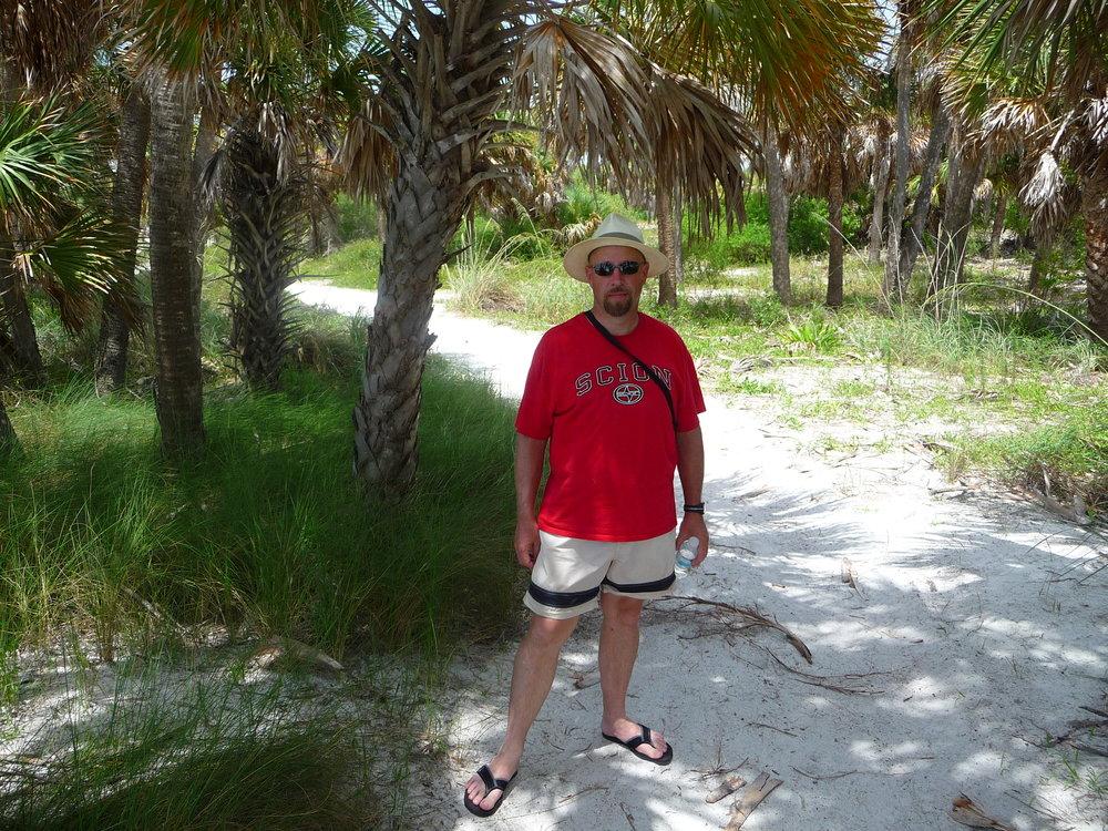 Island off Tampa