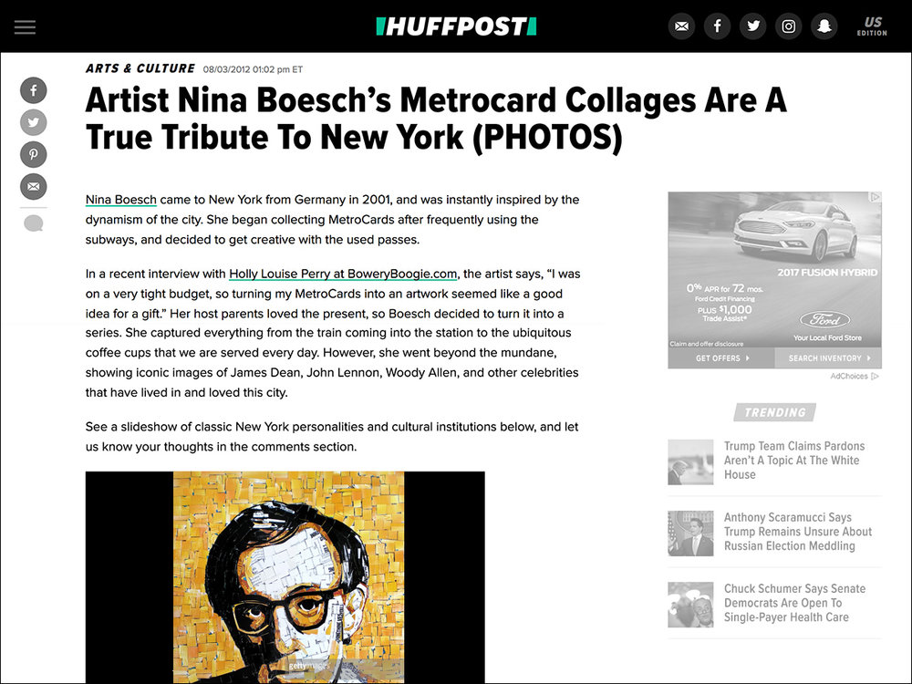 Huffington Post » Read online