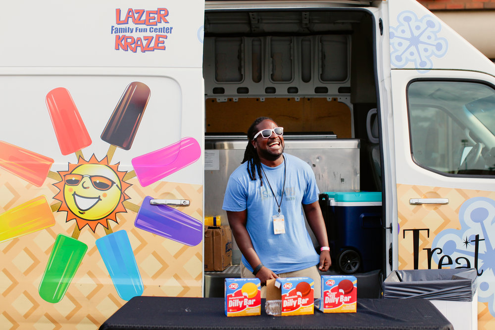 Goldfish-Swim-School-Dublin-Make-A-Wish-Pool-Party-Sunny-95-Treat-Truck