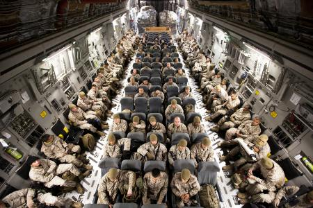 """The US Marine Corps: an example of what Jim Collins describes as a cult-like culture. They call themselves """"The few and the proud."""""""