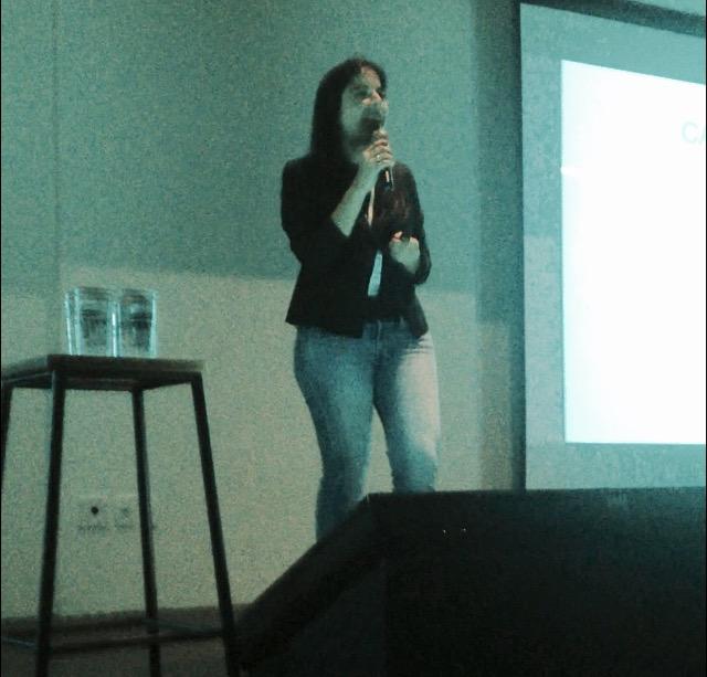 Clarisse Monteiro, Gerente da Endeavor, na Qulture.Con