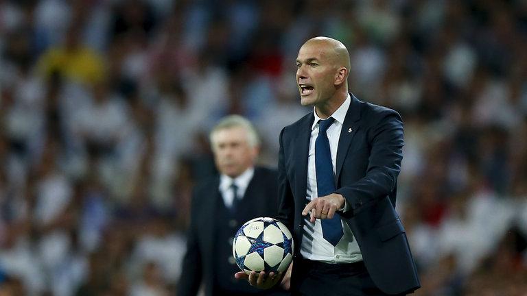 Técnico Zidane em campo- Fonte: Skysports