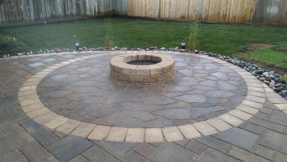 How to install barkman flagstone pavers #1