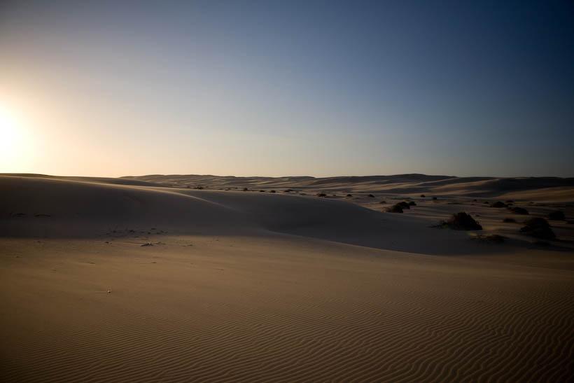 Desert, where Star Wars happened to be filmed in the 70's Newcastle Australia