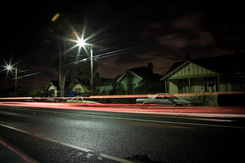 Night Time Photography Melbourne Australia
