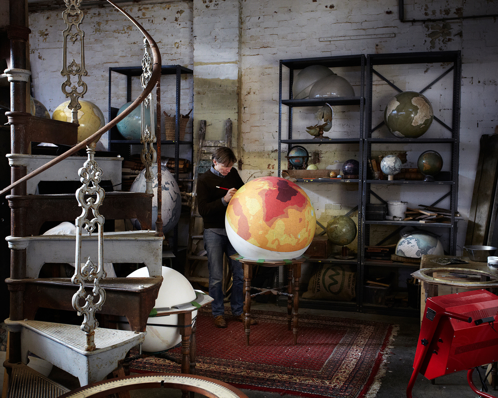 Peter Bellerby -  Bellerby Globemakers