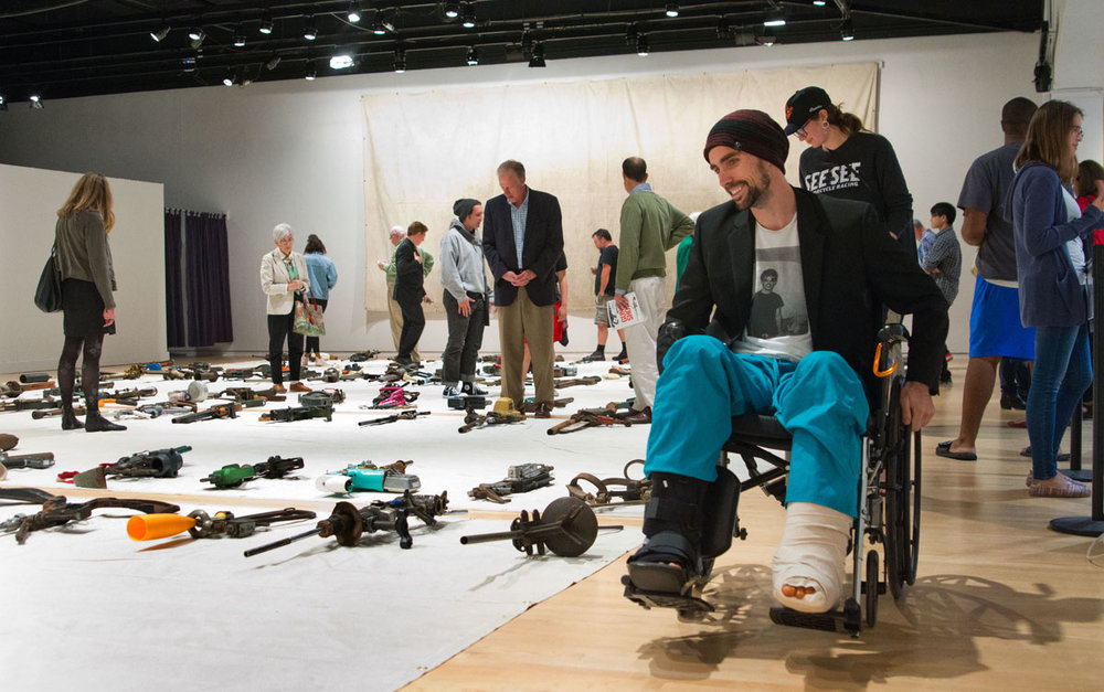 hess gun show umbc peter.jpg