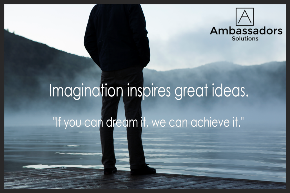 Imagination Inspires Ideas