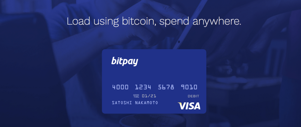 BitPay a Bitcoin only debit card that is available to US residents from all 50 states. Other cards are available in USA, but not every single state.  BitPay's debit card costs $9.95 to order, and arrives 7-10 days after purchase. It can be used online, in-person, and also works with any ATM that works with VISA cards.
