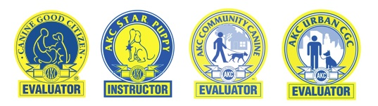 I am now approved to be an instructor and evaluator for AKC Canine Good Citizen.  Stay tuned for future classes and tests: