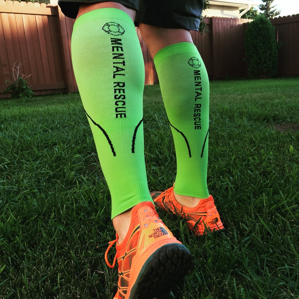 Mental Rescue Compression Sleeves available now in our online store.