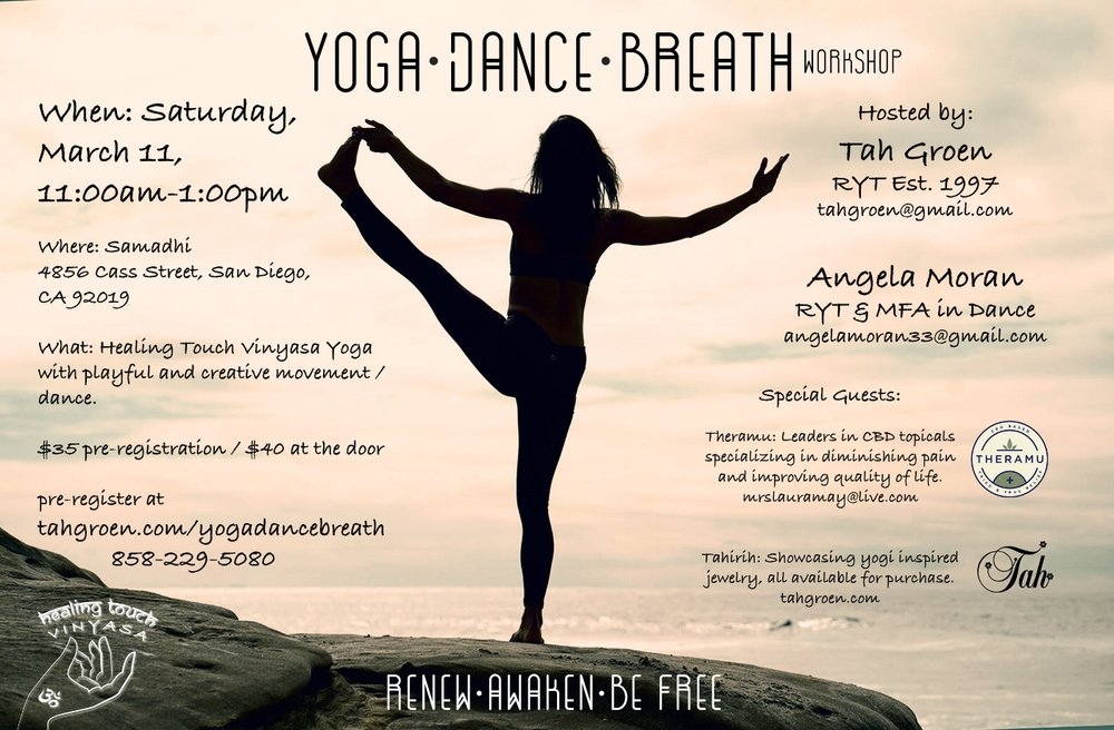 Yoga Dance Breath Workshop