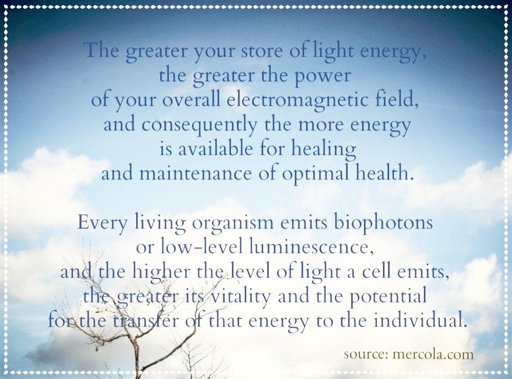 Aura bio photons