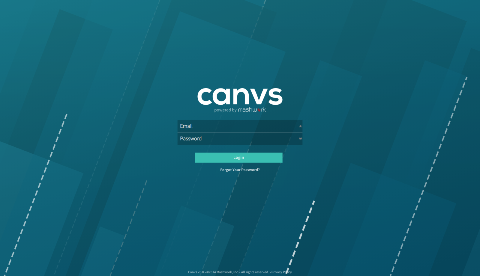 New Canvs Login Page