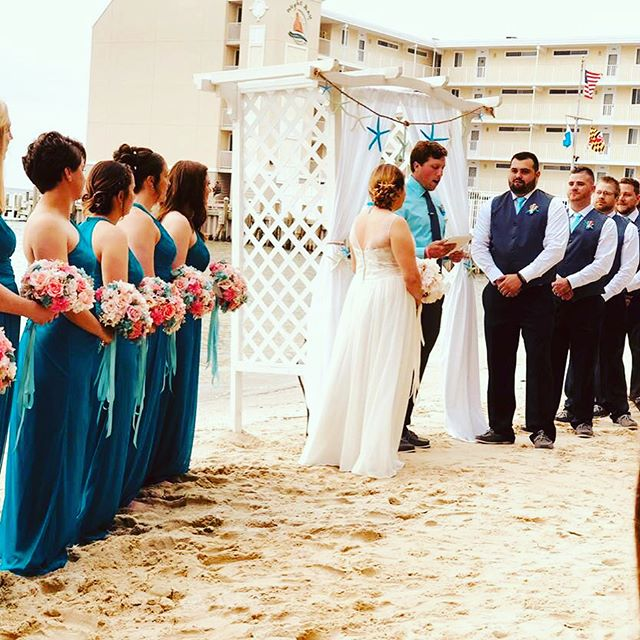 We were closed for business this weekend as we were getting married!! #marryfioti #wegotmarried #ocmd  #ocmdwedding