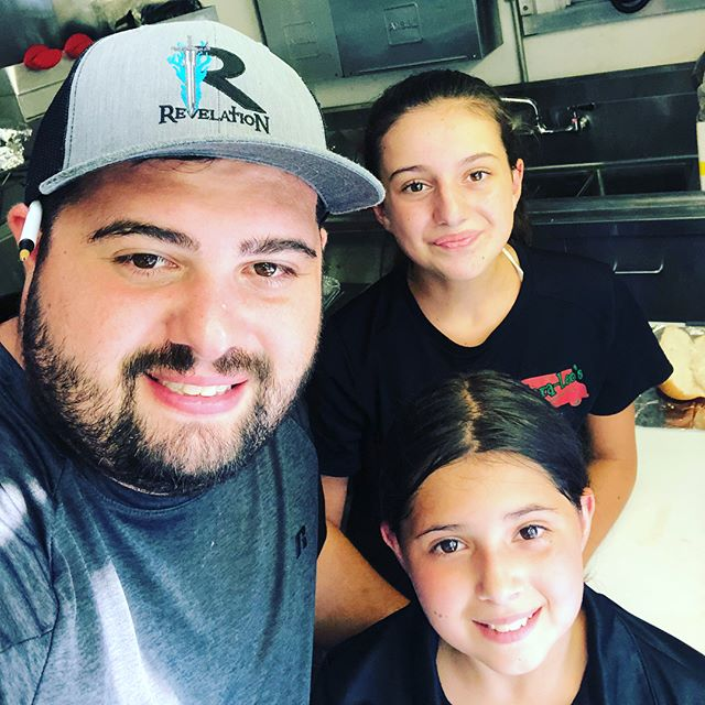 Super cool day today, had both of my sisters helping me at a private event! Keep us in mind for parties or events!! #pepperonirolls #foodtruck #foodtruckcatering #party #family #lancasterpa