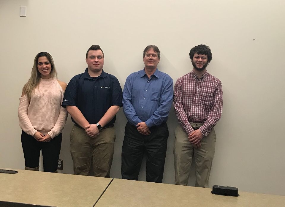 - Dan Kokoski, Assistant Plant Manager, recently spoke to 20 members of the University of Pittsburgh's Student Chapter of the AIChE (American Institute of Chemical Engineers).  He spoke about Neville Chemical Company, our history, what we make and his experiences as a Process Engineer.We hope to continue a relationship with the student chapter in the future.