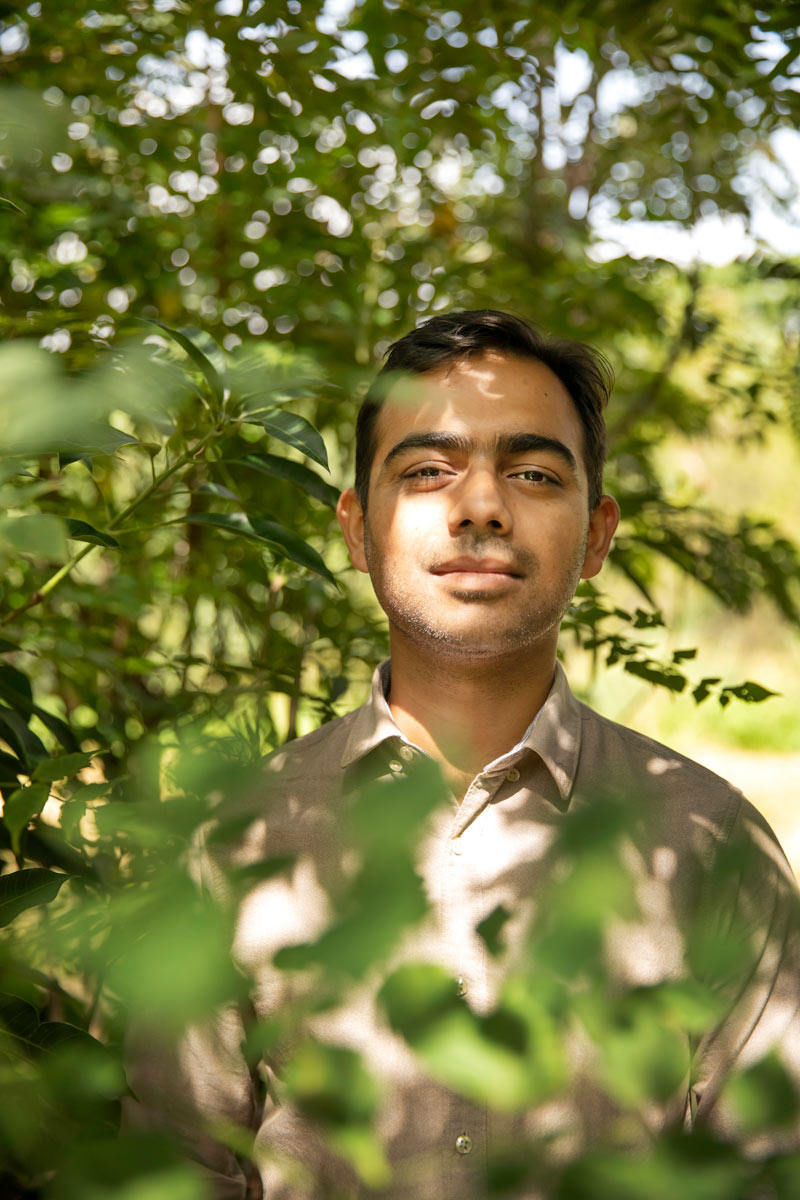 """SHUBHENDU SHARMA FOUNDER & DIRECTOR, AFFORESTT """"It made more sense to make forests than to make cars,"""" says Sharma of quitting his job as an automobile production engineer at Toyota. In 2008, he worked with acclaimed Japanese botanist Akira Miyawaki, who was growing a forest on the factory premises to help production turn carbonneutral. It was an encounter that changed the course of his career. Afforestt, which Sharma established in 2011, adopts the Miyawaki method to grow wild, maintenance-free native forests. There's a science to forest-making, Sharma explains: natural forests are surveyed to identify native tree species, the soil is studied, farmers are consulted, and then a formula for forest-making in that area is cracked. But when forests are being cut down at an alarming rate for commercial projects, how does he keep going? """"Our focus is on making tangible forests,"""" he explains. """"Right now, in Delhi, 16,000 trees are to be cut—but this has been happening for a long time and there are people who are much better than us at stopping it. Our time should be spent on forest-making"""
