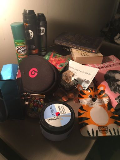 Jason Benskin's Bedside Table - hear the truth behind the Odour Eaters.