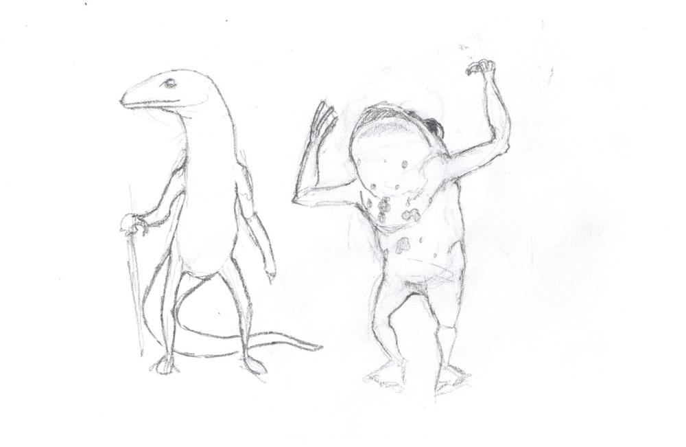 Friends Lament (Pencil Sketch)