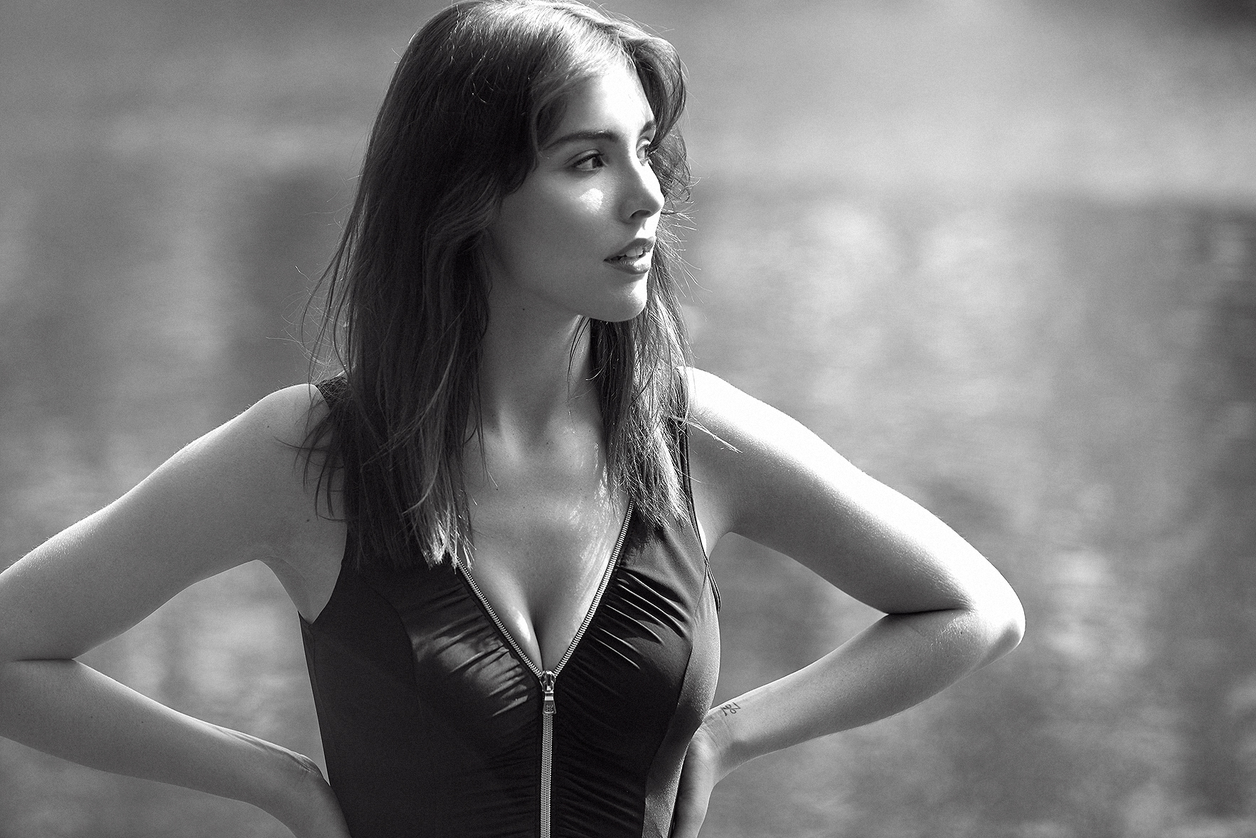 Miracle-suit-black-swimwear-hamstead-heath-pool-swimsuit-lingerie-la-femme-editorial-photoshoot-bathing-suit-10