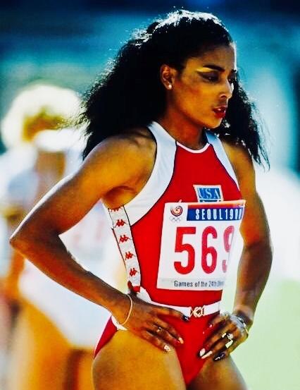Olympian Track Star FloJo