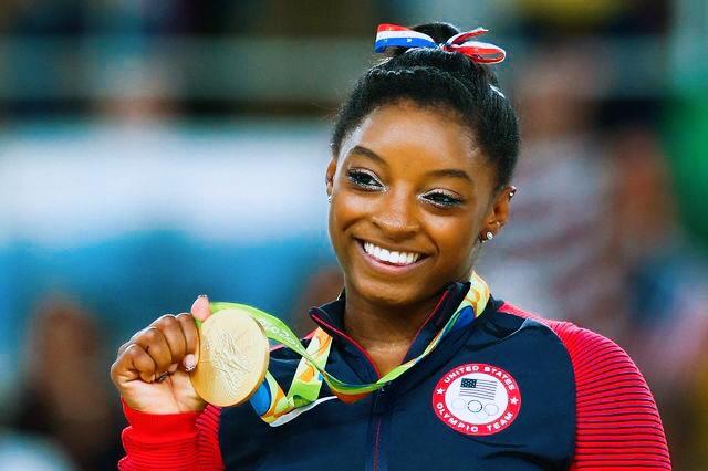 Olympian Gymnast Simone Biles