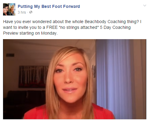Head over to my Facebook page to see the 5 Day Coaching Preview Video!