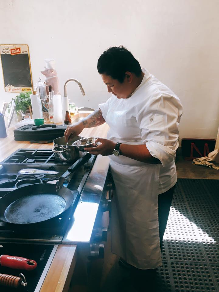 Our Executive Chef Melissa Araujo