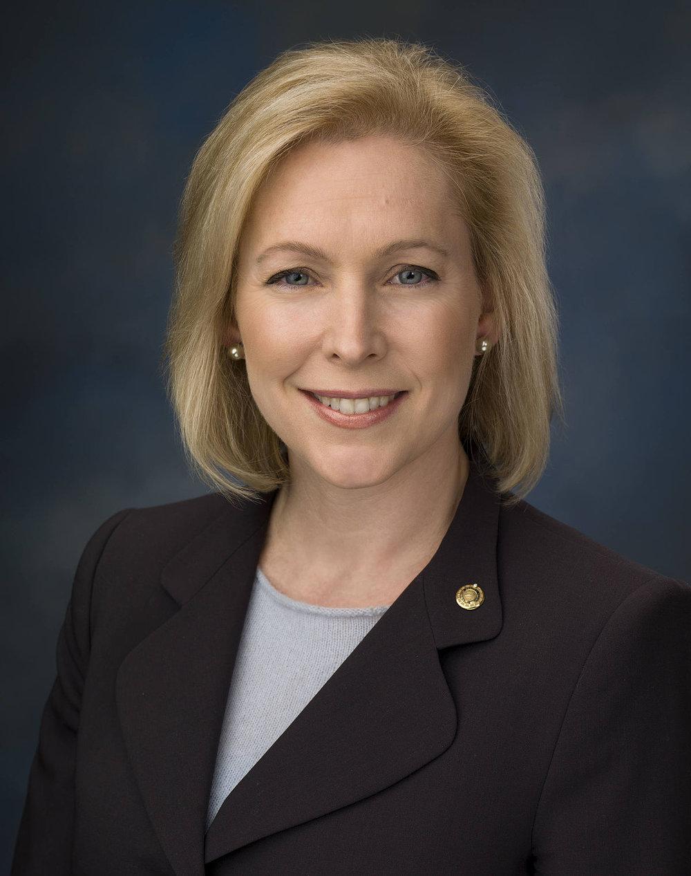 US Senator Kirsten Gillibrand