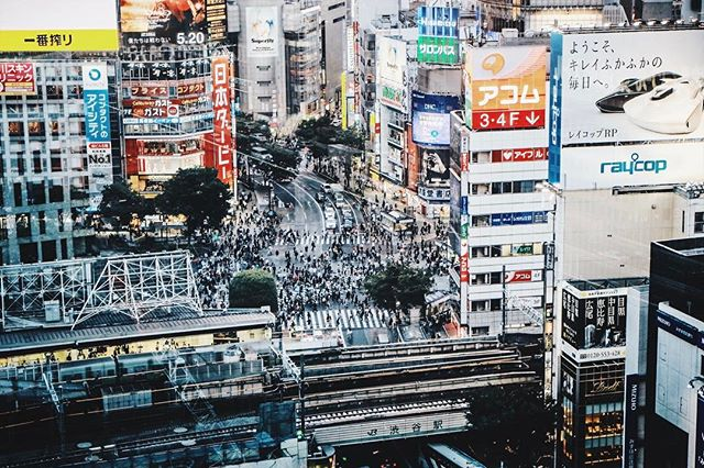 Shibuya, Tokyo. Go Forth on the Never Ending Path. #ransomholdingco P. Daryan Shamkhali