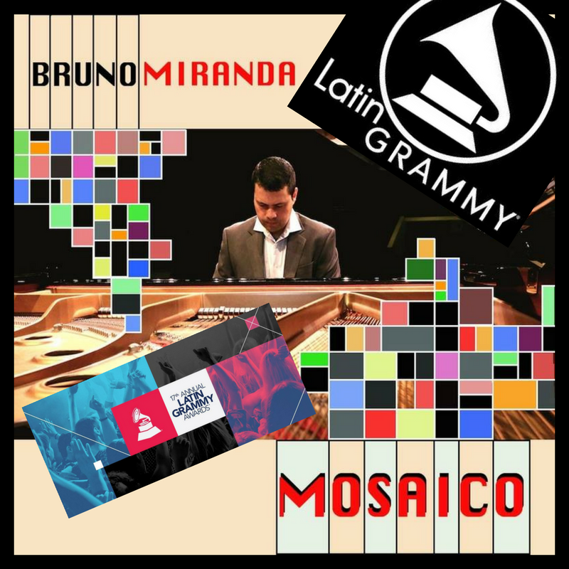 "Latin GRAMMY® Nominated for Best Instrumental Album of The Year in 2016 - Co-produced and engineered (mastering) by José, the best word to describe the sounds of Mosaic is ""organic""."